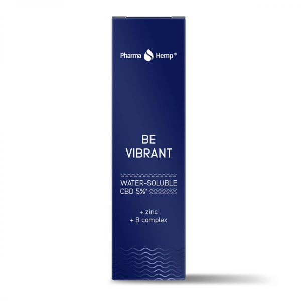 Pharma Hemp - 'Be Vibrant' Picături solubile în apă' 5% CBD Full Spectrum [2]
