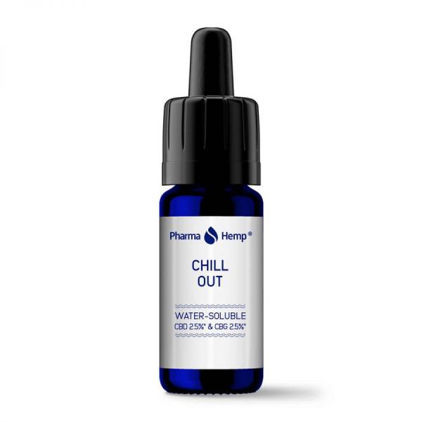Pharma Hemp - 'Chill Out' Picaturi solubile in apa CBD + CBG 1