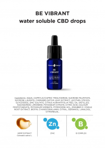 Pharma Hemp - 'Be Vibrant' Picături solubile în apă' 5% CBD Full Spectrum [4]