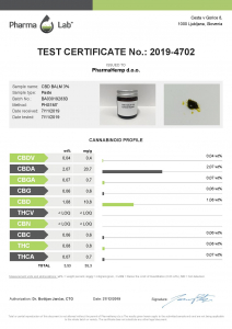 Balm CBD  BioActiv 30ml 3% [2]