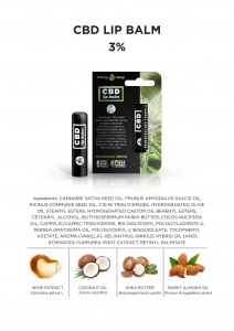 Balsam de buze CBD 4,5g 3%1