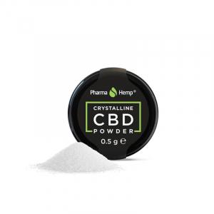 Cristale CBD 'PharmaHemp ' CBD 99,6% - 0,5gr CBD Izolat1