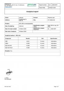 Cibdol - Ulei din semințe de cânepă cu CBD 20% [2]