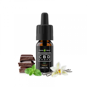 Pharma Hemp - CBD Ulei 'Aromatherapy' - Ciocolată cu mentă și Vanilie - 7% Full Spectrum [1]