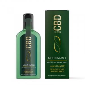 Apa De Gura 'Elixir CBD' 25mg CBD 250ml0