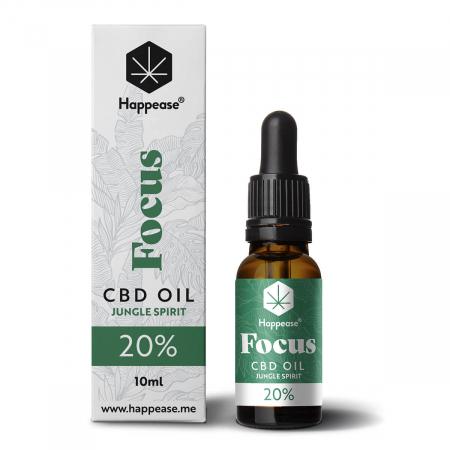 Happease® Focus 20% CBD Jungle Spirit (10ml) [0]