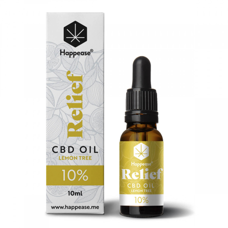 Happease® Relief 10% CBD Lemon Tree (10ml)0