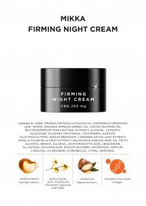 MIKKA Cremă de noapte pentru fermitate 50 ml [2]