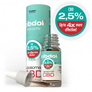 Cibdol - Ulei Lipozomal cu CBD 2,5%1