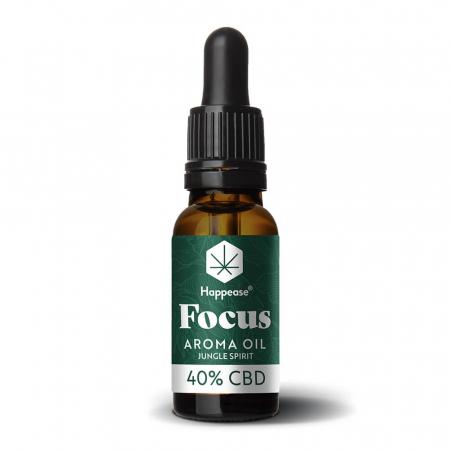 Happease® Focus 40% Ulei CBD Jungle Spirit (10ml) [1]