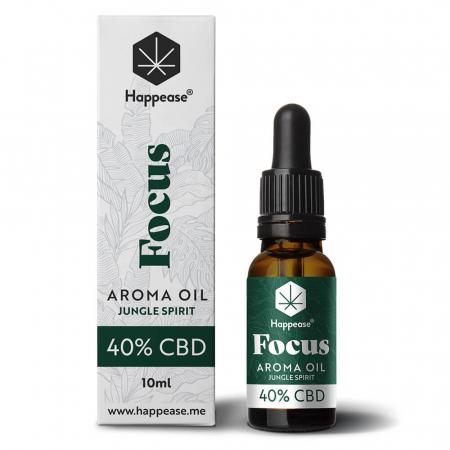 Happease® Focus 40% Ulei CBD Jungle Spirit (10ml) [0]