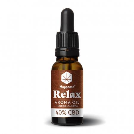Happease® Relax 40% Ulei CBD Tropical Sunrise (10ml) [1]
