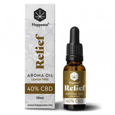 Happease® Relief 40% Ulei CBD Lemon Tree (10ml) [0]