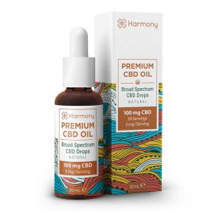 Harmony Selfcare Drops Aromă Naturală 0,33% CBD - 30ml [0]