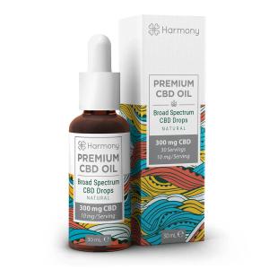 Harmony Selfcare Drops Aromă Naturală 1% CBD - 30ml [0]
