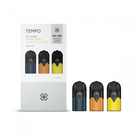 Harmony TEMPO Originals 3 Pods Pack 222mg CBD (3x74mg) [0]