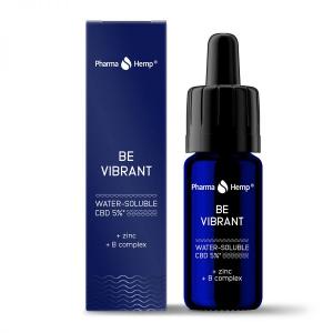 Pharma Hemp - 'Be Vibrant' Picături solubile în apă' 5% CBD Full Spectrum [0]