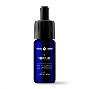 Pharma Hemp - 'Be Vibrant' Picături solubile în apă' 5% CBD Full Spectrum [1]