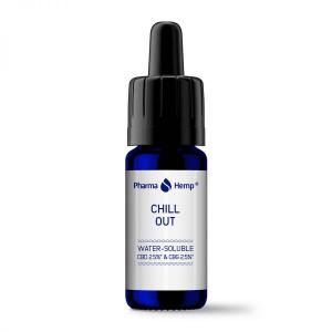 Pharma Hemp - 'Chill Out' Picaturi solubile in apa CBD + CBG1