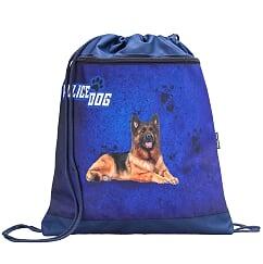 "Set ""Police Dog"" Ghiozdan Ergonomic echipat, 2 penare si sac sport 3"