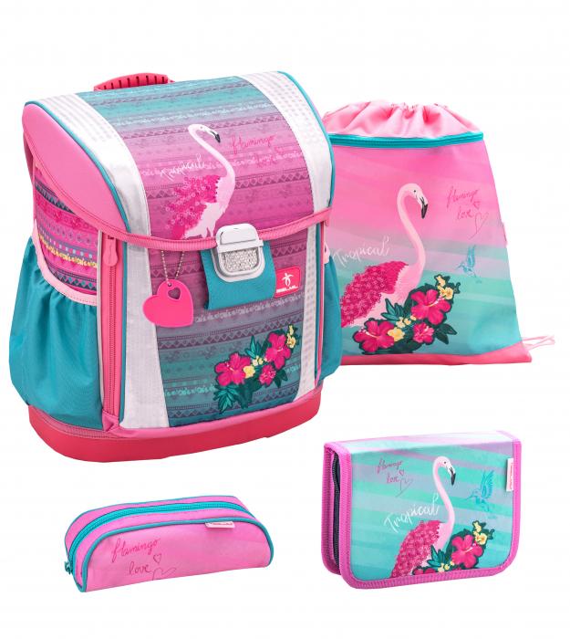 Ghiozdan Pink Flamingo 0