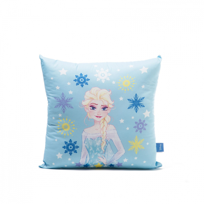 Perna decorativa Frozen Magia, 42x42 cm, bleu 0