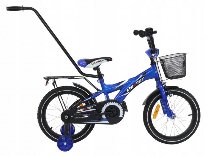 Bicicleta copii BMX 16 inch, Mexller, albastru 0