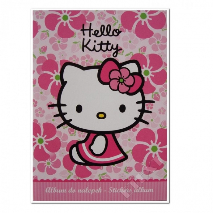 ALBUM STICKERE FLOWER HELLO KITTY 0