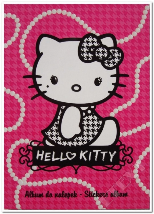 ALBUM STICKERE PEARLS HELLO KITTY 0