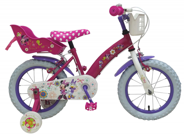 "BICICLETA COPII 14"" DISNEY MINNIE MOUSE BOW-TIQUE 0"