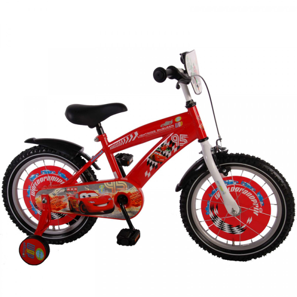 "BICICLETA COPII 16"" DISNEY CARS 0"