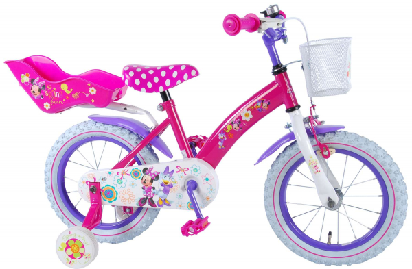 "BICICLETA COPII 14"" DISNEY MINNIE MOUSE BOW-TIQUE LUX 0"