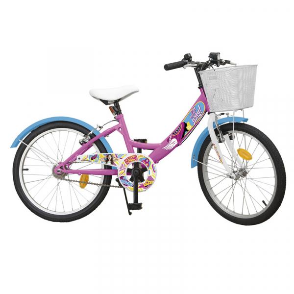 bicicleta pentru copii fete 20 inch Disney Channel 7 8 9 ani biciclete Soy Luna imagini poze noriel emag zambirici
