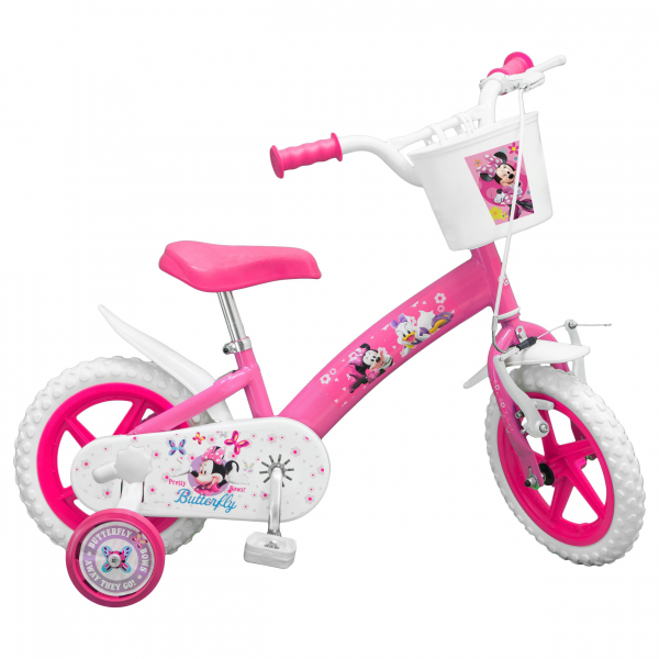 "BICICLETA COPII TOIMSA 12"" PINK MINNIE MOUSE 0"