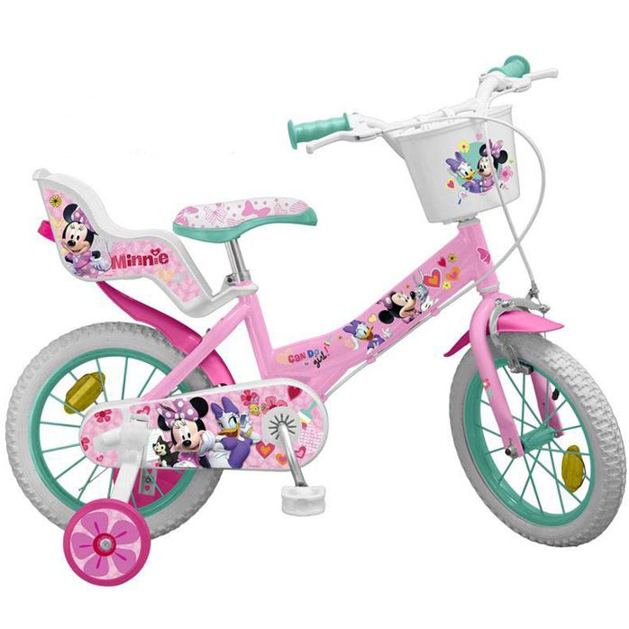 BICICLETA COPII TOIMSA 16 inch DISNEY MINNIE MOUSE 0