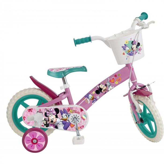 Bicicleta Copii, Toimsa, Disney Minnie Mouse, 12 inch, 3-5 ani 1