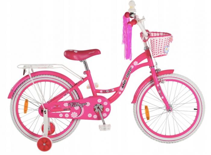 Bicicleta copii Village 20 inch, Mexller, roz 0