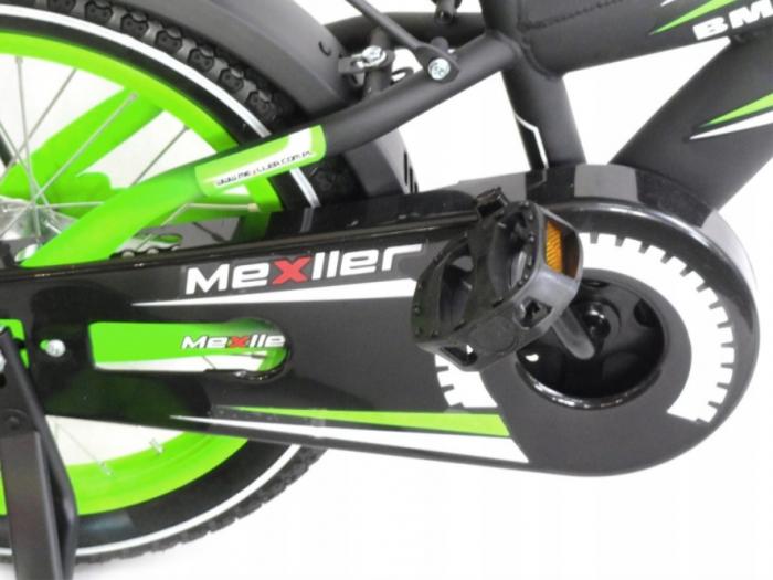 Bicicleta copii BMX 12 inch, Mexller, verde 2