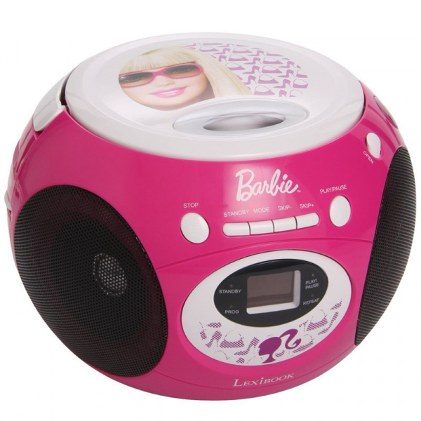BOOMBOX CU CD BARBIE STYLE 2