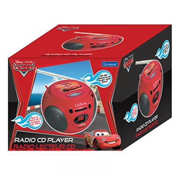 BOOMBOX CU CD DISNEY CARS 1