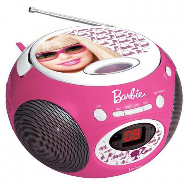 BOOMBOX CU CD BARBIE STYLE 0