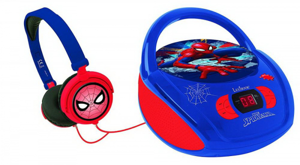 BOOMBOX  RADIO/ CD PLAYER  SPIDERMAN 1