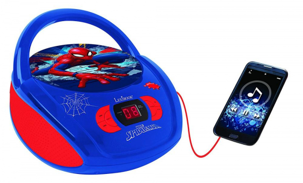 BOOMBOX  RADIO/ CD PLAYER  SPIDERMAN 0