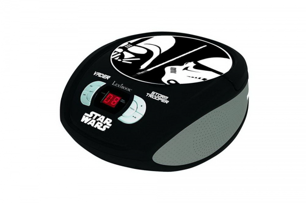 BOOMBOX  RADIO/ CD PLAYER  STAR WARS 2