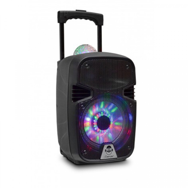 "BOXA PORTABILA 8""BLUETOOTH DISCO BALL IDANCE 0"