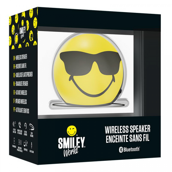 BOXA PORTABILA CU BLUETOOTH EMOTICON SMILEY COOL BIGBEN 2