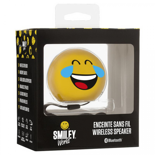 BOXA PORTABILA CU BLUETOOTH EMOTICON SMILEY LOOL BIGBEN 2