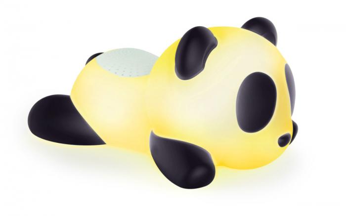 BOXA PORTABILA LUMINOASA  BLUETOOTH  SLEEPING PANDA BIGBEN, 33 CM 1