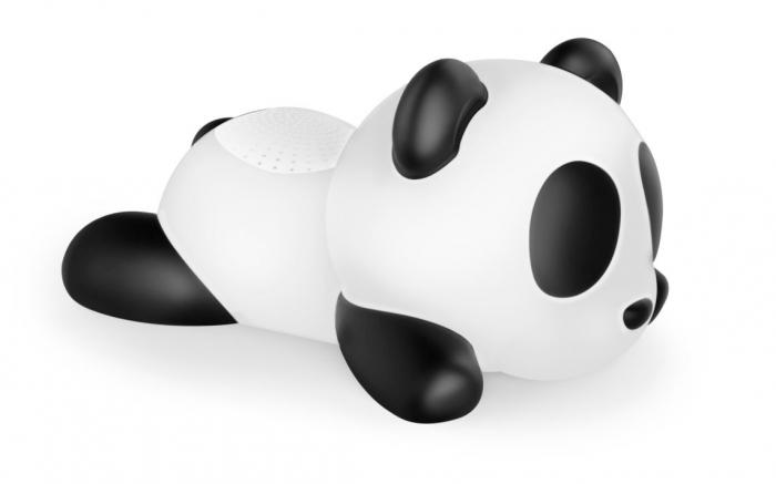 BOXA PORTABILA LUMINOASA  BLUETOOTH  SLEEPING PANDA BIGBEN, 33 CM 0