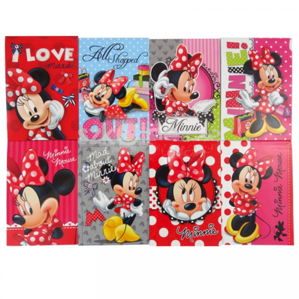 CARNETEL A7 DE NOTITE MINNIE MOUSE 0
